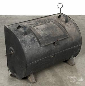 Tin hearth reflector oven