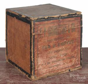 Garretson  Co paper covered tea bin