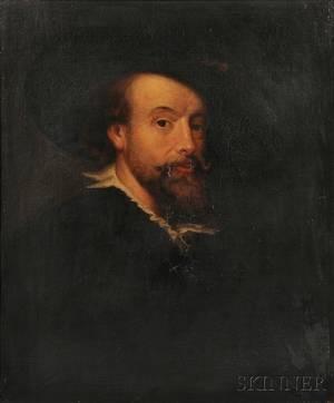 After Peter Paul Rubens Flemish 15771640 Copy of the Self Portrait by Rubens of 1623