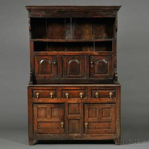 Provincial Georgian Oak Dresser