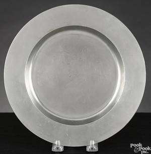 Providence Rhode Island pewter plate ca 1785