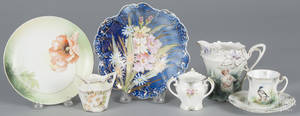 Three pieces of R S Prussia porcelain