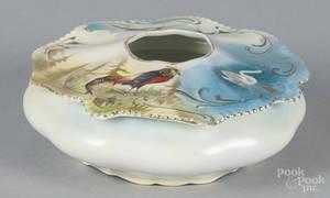 R S Prussia porcelain bluebird