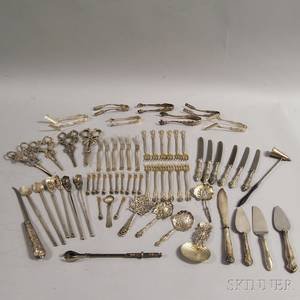 Group of Miscellaneous Mostly American Sterling Silver Flatware