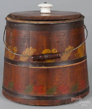 Staved bucket