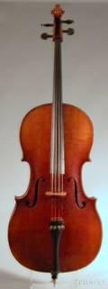 German Violoncello c 1920