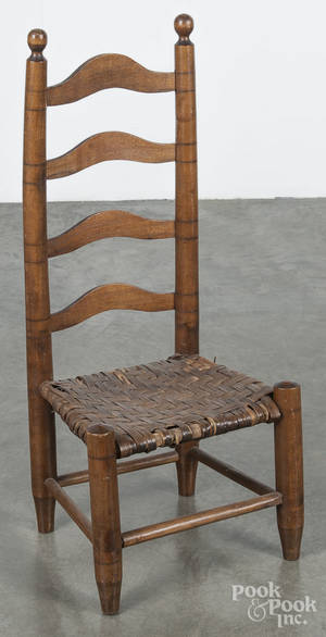 Childs ladderback chair