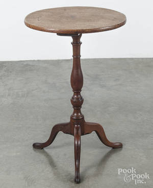 Walnut candlestand