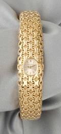 18kt Gold Wristwatch JaegerLeCoultre