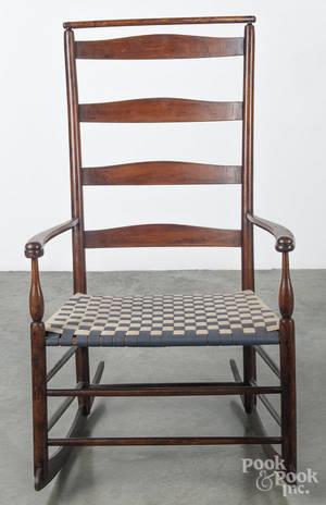 Shaker 7 rocking chair