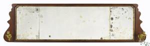 Frank Auspitz York Pennsylvania Queen Anne walnut overmantel mirror