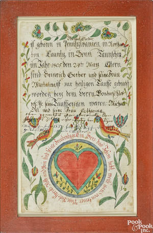 Ehre Vater Artist Carolinas Virginia and Pennsylvania active 17821828