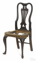 Philadelphia Queen Anne walnut dining chair ca 1750
