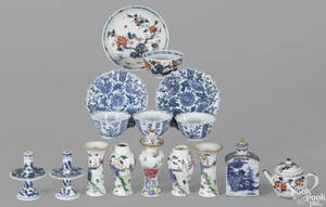Miniature Chinese export porcelain wares 18th19th c