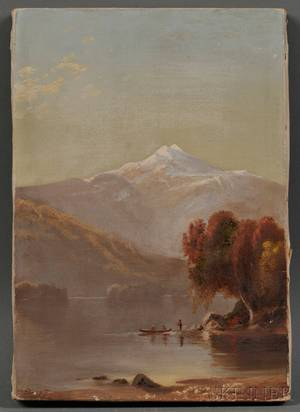 American School 19th Century View of Mt Jefferson New Hampshire