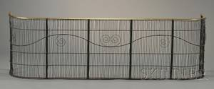 Brass Wirework Fire Fender