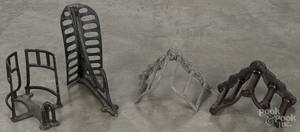 J W Fiske cast iron saddle rack