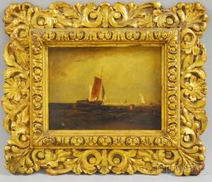 William Van De Velde Bonfield American 18341885 After Joseph Mallord William Turner British 17751851 Bligh Sand