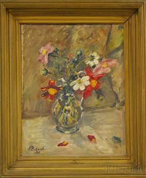 Ernst Pickardt German 18761931 Floral Still Life