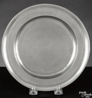 Middletown Connecticut pewter plate ca 1775