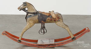 Painted hobby horse