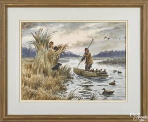Donald Shoffstall watercolor