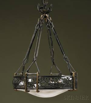 Art Deco Hanging Lamp