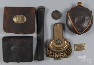 US pattern 1851 Civil War officers belt buckle