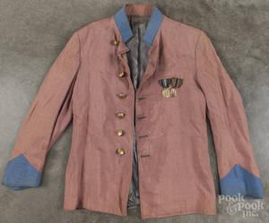 Civil War Confederate reenactors uniform mid 20th c