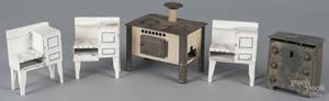 Tin dollhouse furniture