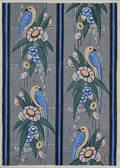 Continental School 20th Century Art Deco Wallpaper Design
