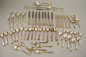 Group of Miscellaneous Sterling Silver Flatware