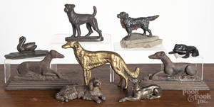 Metalware dogs