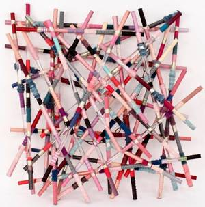 Contemporary Stick Form Wall Art