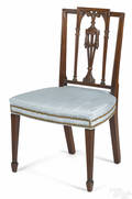 New York Federal mahogany dining chair ca 1805