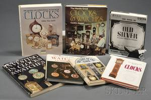 Seven Titles on the History of Clocks Watches and Silver