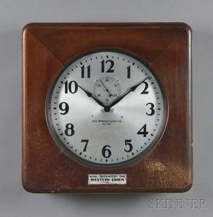 Two Self Winding Clock Co Clocks