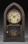JC Brown Mahogany RippleMolded Beehive Clock