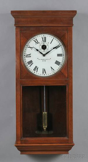 Self Winding Clock Co Master Clock