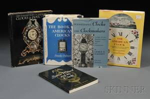 Five Titles on American Clocks and Watches