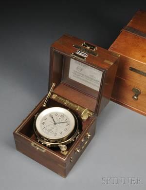 Hamilton Watch Company Twoday Marine Chronometer