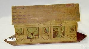 German lithograph Noahs Ark toy late 19th c