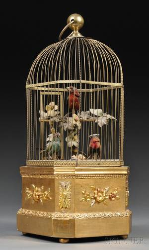 Three Singing Bird Automaton