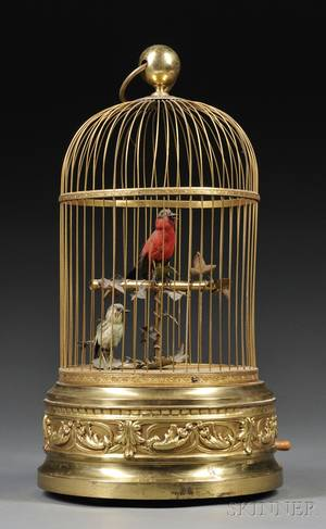 Two Singing Bird Automaton