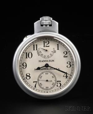 Hamilton Model 22 US Navy Chronometer Watch