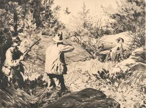 Aiden Lassell Ripley American 18961969 Grouse Shooting