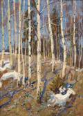 Mark Kremer Russian b 1928 Early Spring