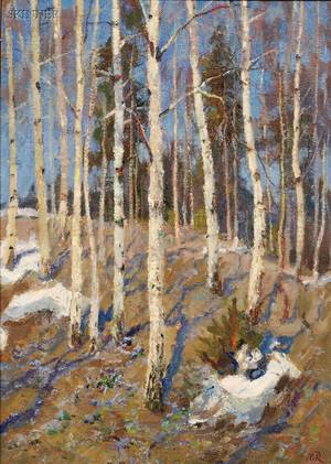 Mark Kremer Russian b 1928 Early Spring