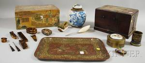 Group of Assorted Mostly Asian Decorative Articles