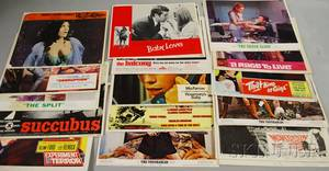 Ninetyseven 1960s US Movie Lobby Cards